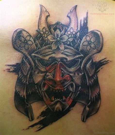 samurai helmet tattoo designs 43 alluring japanese samurai tattoos for back