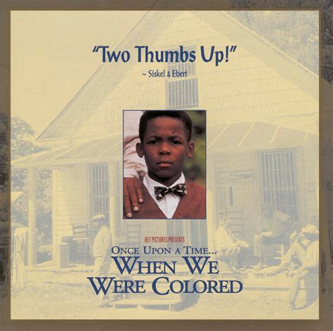 once upon a time when we were colored clifton l taulbert the