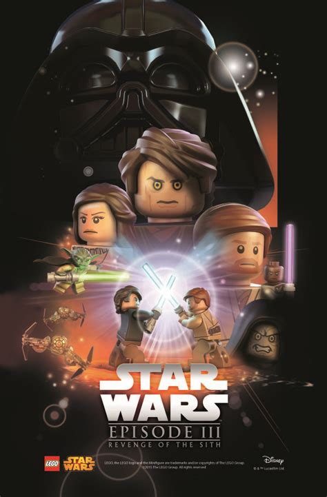 film bagus star wars star wars lego posters