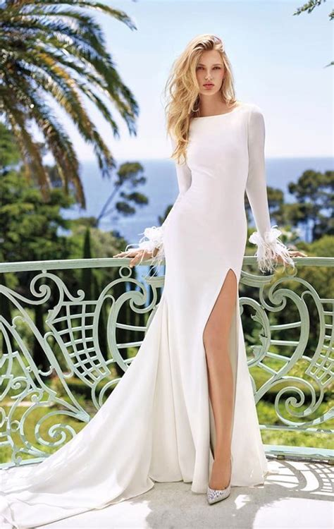 Wedding Dress With Slit by Top 20 Wedding Dresses With Slit
