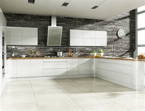 multi wood kitchen cabinets welford bright white handleless multiwood