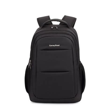 Oxford Plain Backpack plain black water proof oxford preppy style school