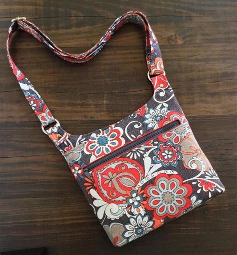 tote bag pattern free online vanessa bag crossbody purse pattern craftsy