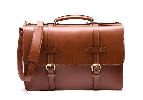 Handmade Leather Bags Accessories - bridle briefcase handmade leather briefcases and