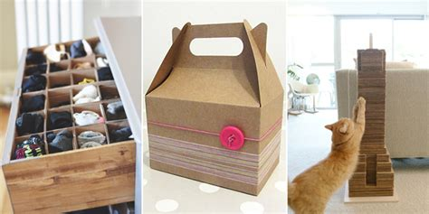 diy crafts with cardboard 16 amazing things you can make with cardboard boxes