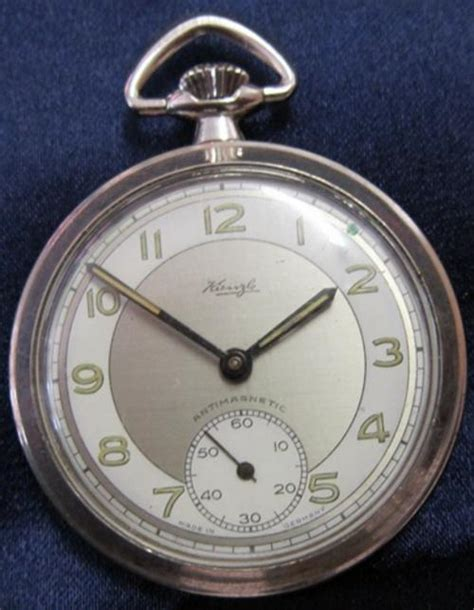 pocket watches kienzle antimagnetic made in germany