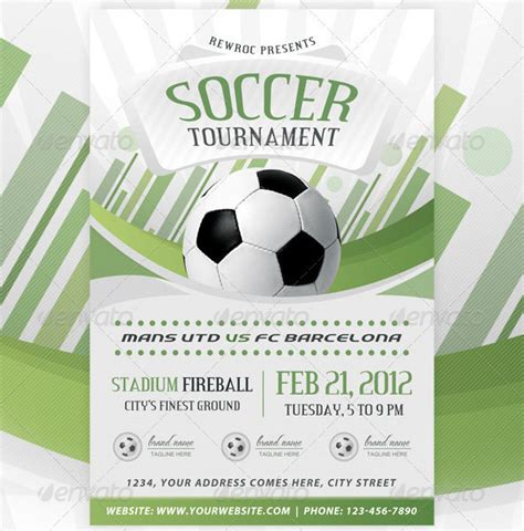 Sports Event Flyer Template 12 great sport flyer templates design freebies