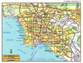 map los angeles california indiana map