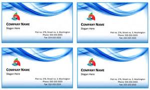 business card printable template blue waves letterhead template printable templates