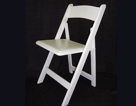 White Wood Folding Chairs by Let S Entertain Rental Image Zooming Galleries