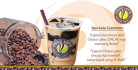 Sidey Choco franchise cappucino cincau choco latte tangerang