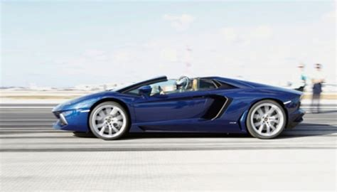 Beschleunigung Auto by Lamborghini Aventador