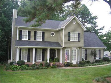 Sage Green House Siding Mountain Sage Hardiplank Curb Appeal Pinterest Paint