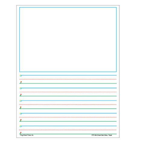 story writing paper for grade smart start story paper grades 1 2