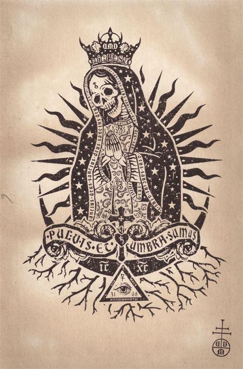 tattooed santa santa muerte daniel martindiaz http danielmartindiaz