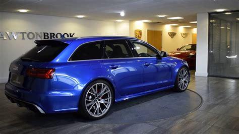 Blue Audi Rs6 by Audi Rs6 Avant Blue With Black Lawton Brook