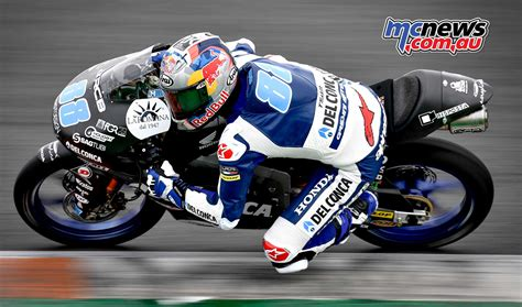 test moto3 honda lead moto3 testing at valencia mcnews au