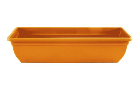 Plastic Trough Planter by Plastic Winchester Trough Planter 60cm Colour Terracotta