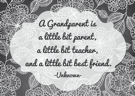 printable grandparent quotes grandparents prints freebies printable prints and rose