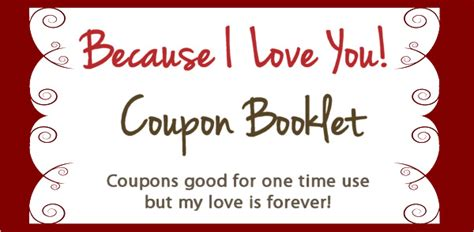 coupon book template search results for printable coupons template