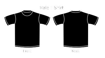Kaos Tshirt March Stp plain shirt black artee shirt