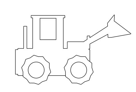 show me more jcb digger colouring pages