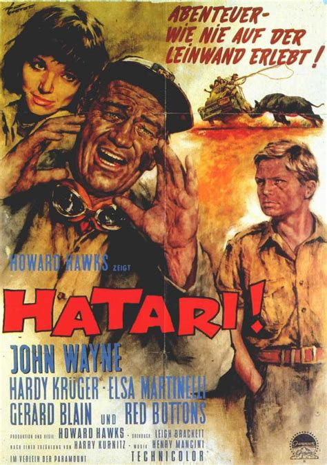 hatari cast picture of hatari