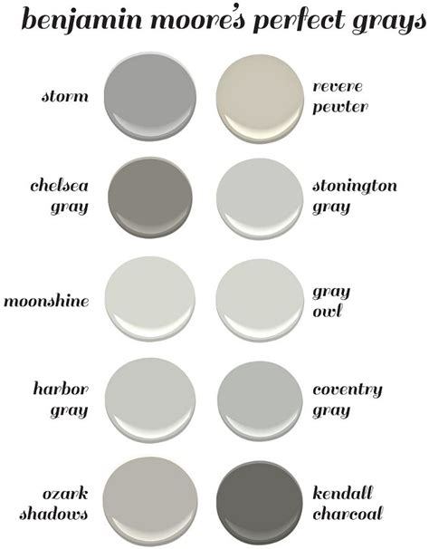 grey paint swatches benjamin moore s perfect gray paint colors benjamin moore