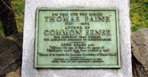 gene wilder headstone grave marker thomas paine writer age of reason common