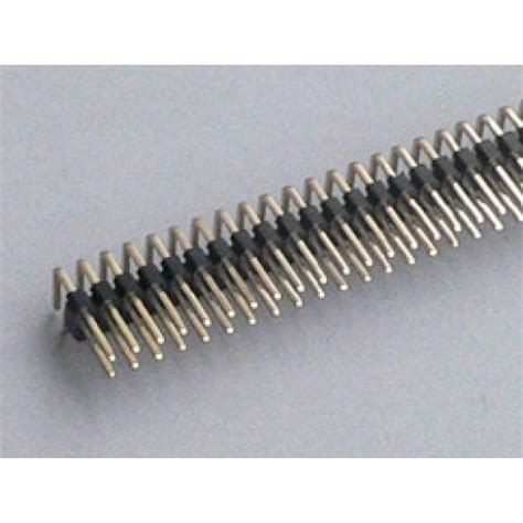 1x20pin Header Right Angle Single Row Socket 2 54mm Pitch 2x40 pin 2 54 mm right angle row pin header