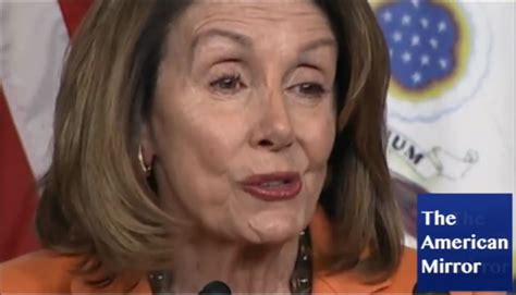 photo of nancy pelose with blond hair video pelosi face spasms mar speech utters gibberish