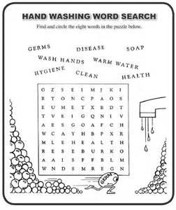 hand washing worksheets worksheet amp workbook site