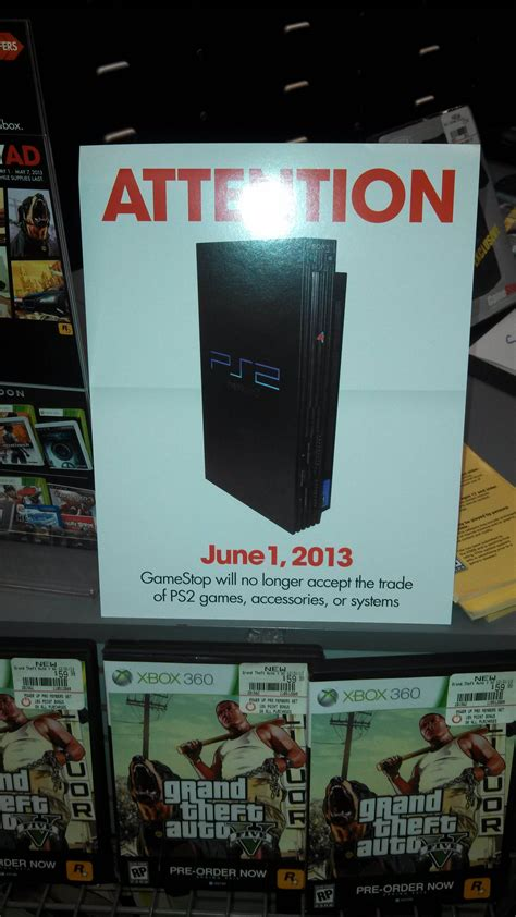 gamestop ps2 console gamestop to soon stop taking playstation 2 trade ins