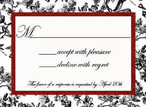 wedding invitation reply card wording sle the wedding specialiststhe wedding specialists