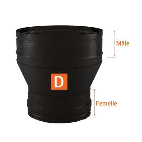 reducteur de cheminee r 233 ducteur tubage chemin 233 e pro noir anthracite 216 250 150