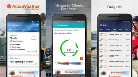 accuweather widgets for android 10 best weather apps and weather widgets for android