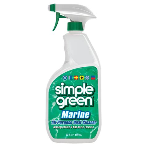green boat cleaner simple green 22 oz marine all purpose boat cleaner case