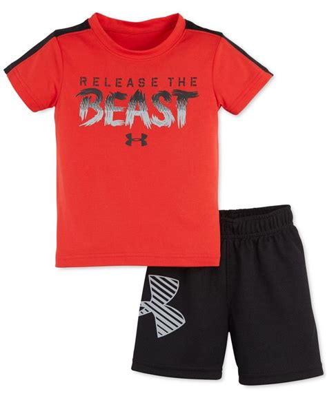 Hoodie Ff Vii 2 armour baby boys 2 release the beast t shirt shorts set future babyyyy