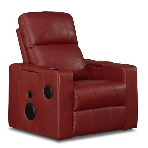 home theater recliner chair apollo leather home theater recliner american signature