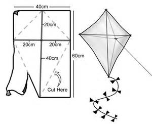 How To Make Paper Kites Step By Step - for the juniors air transport kite