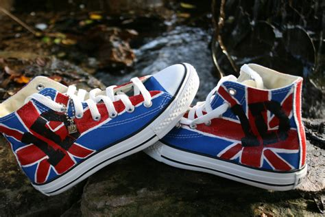 one direction shoes for one direction painted converse shoes union size 2