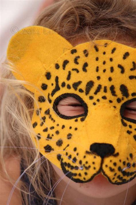 mascara leopardo diademas y mo 241 os pinterest mascaras