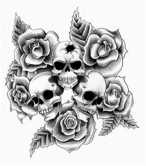 free skull tattoo designs to print best 25 skull finger tattoos ideas on skull