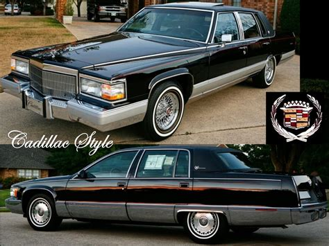 How Do Cadillacs Last 1993 1996 Cadillac Fleetwood Brougham Notoriousluxury