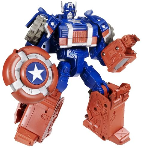 Robot Mobil Captain America captain america transformers toys tfw2005