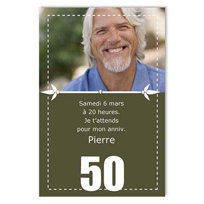 modele lettre anniversaire 50 ans