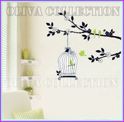 Burung Unyu 2 Bird by Wall Sticker Mini Murah Wall Sticker Murah Se Jakarta
