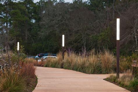 park lights houston memorial park forms surfaces
