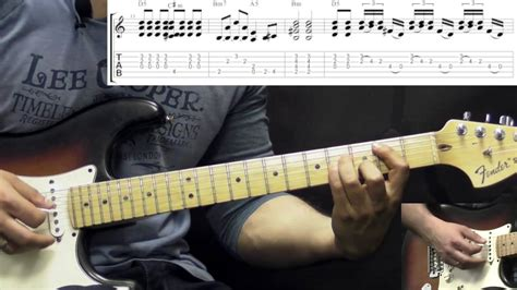tutorial guitar rolling stones john mayer like a rolling stone rock guitar lesson w