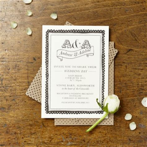selfridges wedding invitations bespoke stationers fin fellowes and leamon a